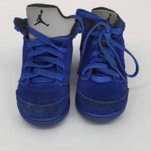Air Jordan 5 Retro Toddler Sneakers Size: 6C